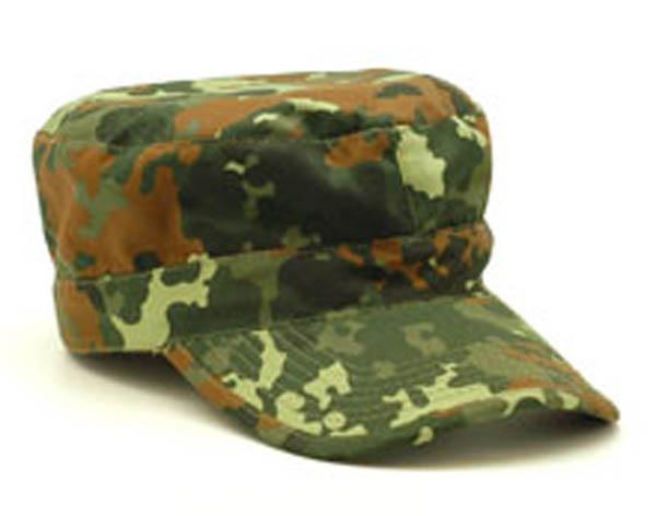 BDU-Cap, US 5-Farben flecktarn neu