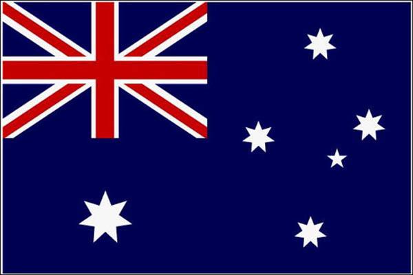 Flagge, Australien neu