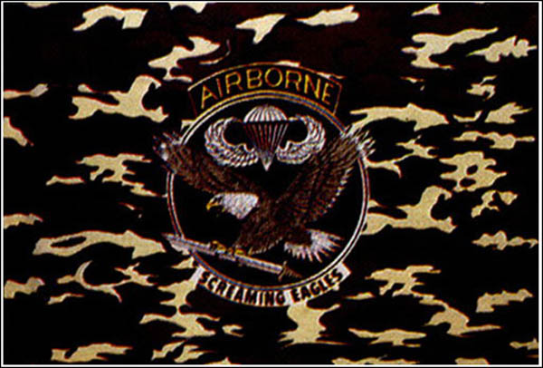 Flagge, Airborne tarn neu