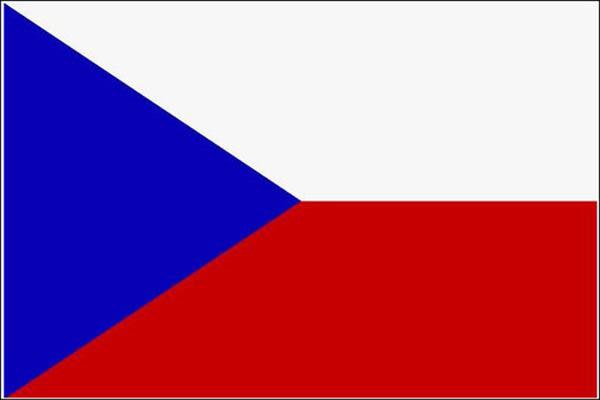 Flagge, Tschechien neu