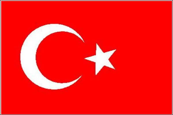 Flagge, Türkei neu
