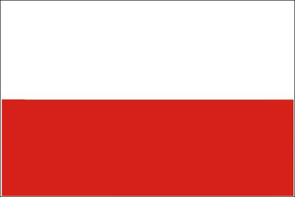 Flagge, Polen