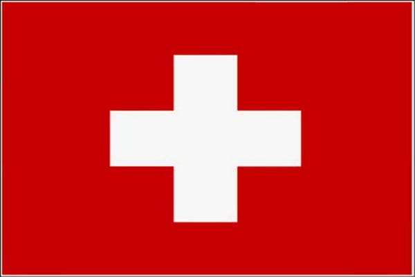 Flagge, Schweiz neu