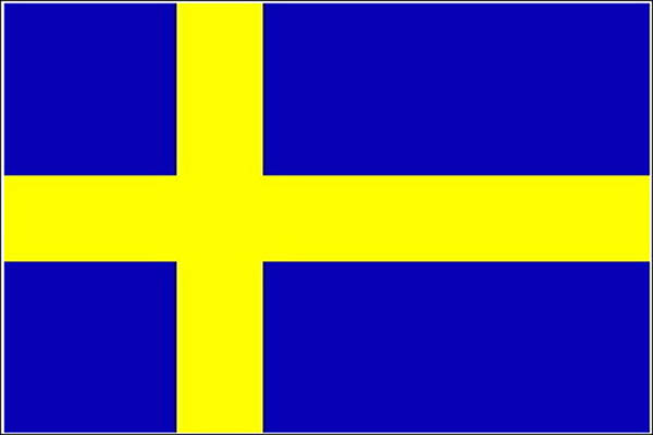 Flagge, Schweden neu