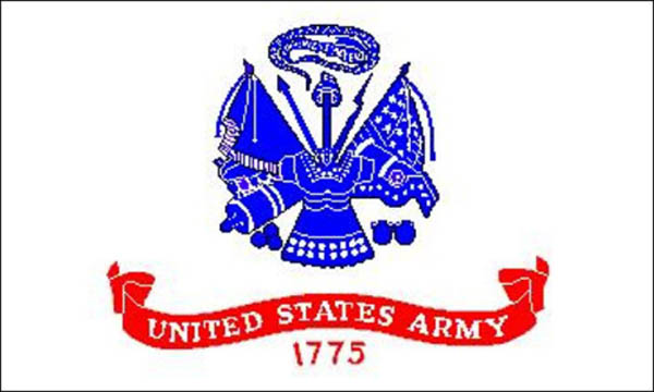 Flagge, U.S. Army neu