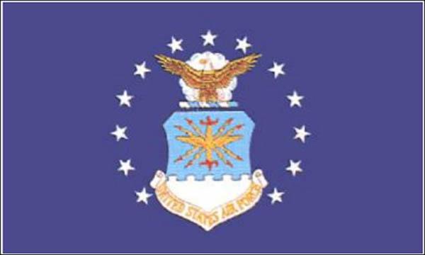 Flagge, U.S. Air Force neu