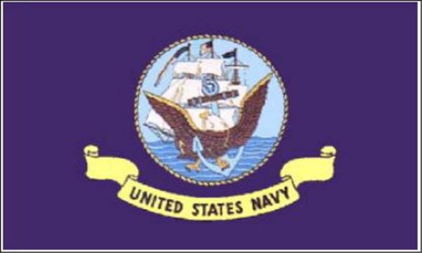Flagge, U.S. Navy neu