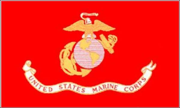 Flagge, U.S. Marine Corps neu