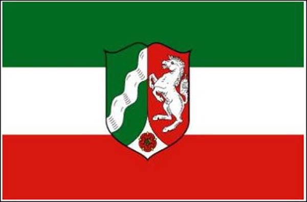 Flagge, Nordrhein-Westfalen neu
