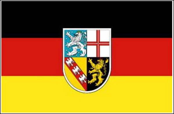 Flagge, Saarland neu