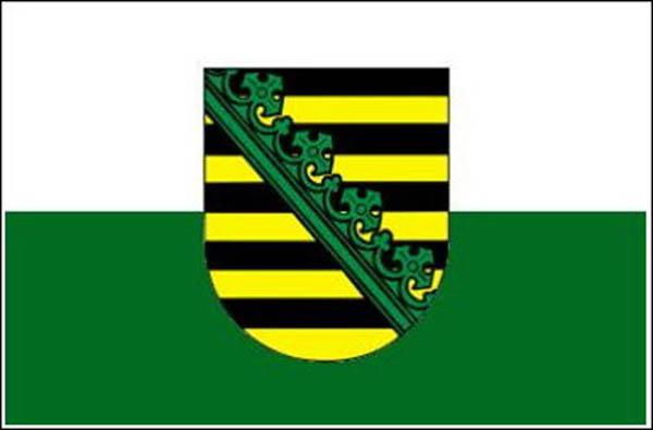 Flagge, Sachsen neu