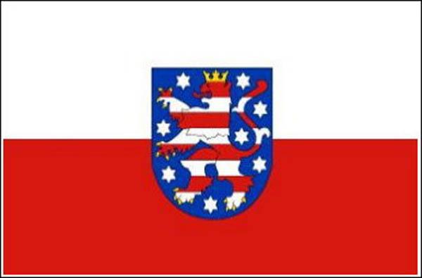 Flagge, Thüringen neu