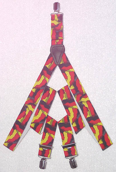Hosenträger, -wehende Flagge BRD- neu
