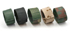Uhrenarmband, Nylon 5-Farben flecktarn neu