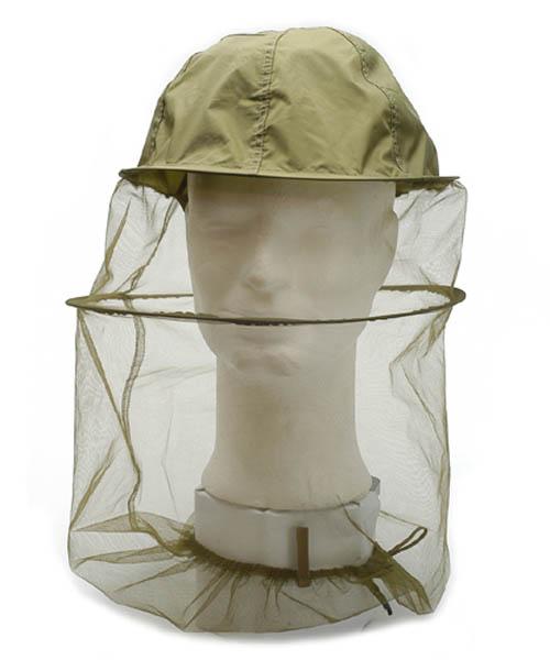Moskito-Kopfschutz, Netz oliv neu
