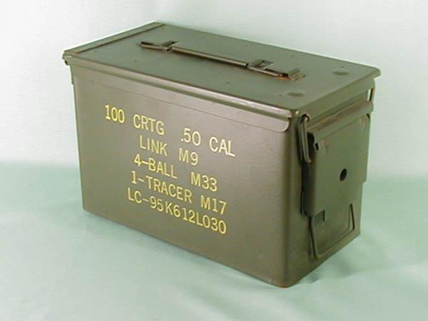 Munitionskiste, US mittel gebraucht (Größe 2)