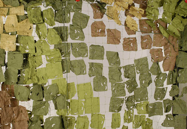 Tarnnetz, (BUL) 4-farbig neuw. (  3 x  6 m)