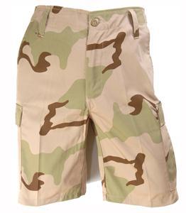 Bermuda-Shorts,US 3-Farben desert neu