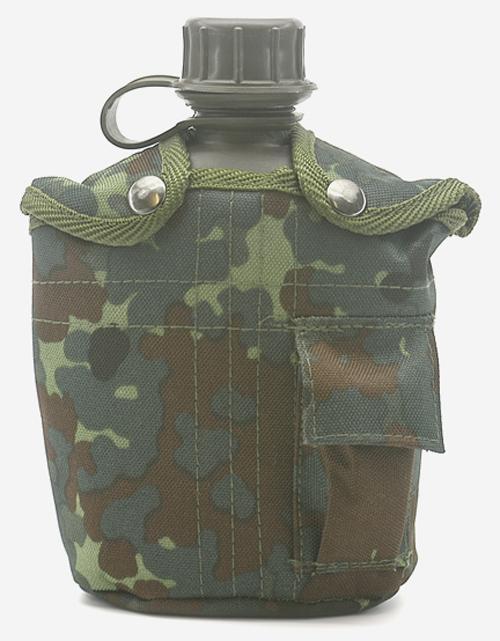 Feldflasche,US G.I. PVC neu (Überzugfarbe: 5-Farben