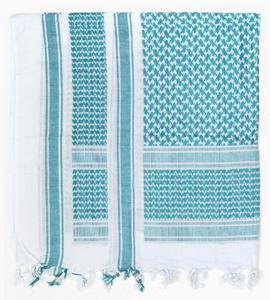 PLO-Kopftuch,weiß-grün neu