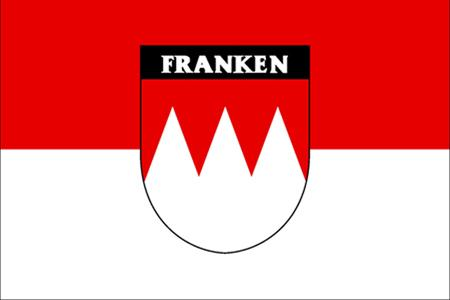 Flagge Franken ,neu