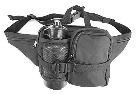 Hüfttasche mit Trinkflasche,0.5 ltr. schwarz neu