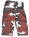 Bermuda-Shorts,US red camo neu