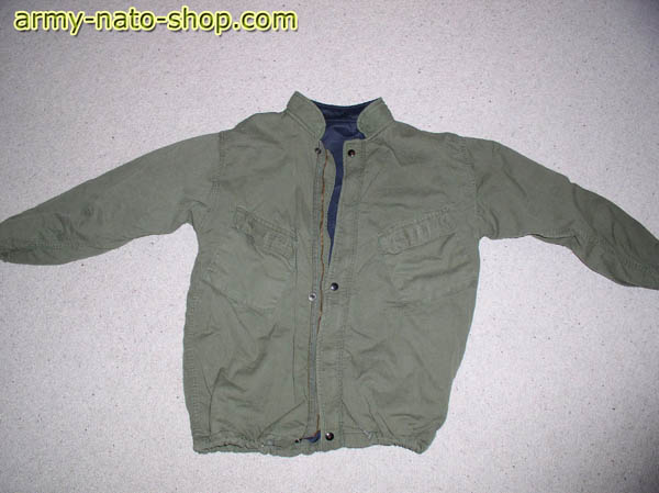 Original US-Army Chemiejacke, gebr., rep.