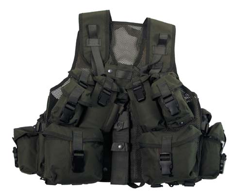 Army shop kan.tactical weste assorted netzeinsatz oliv