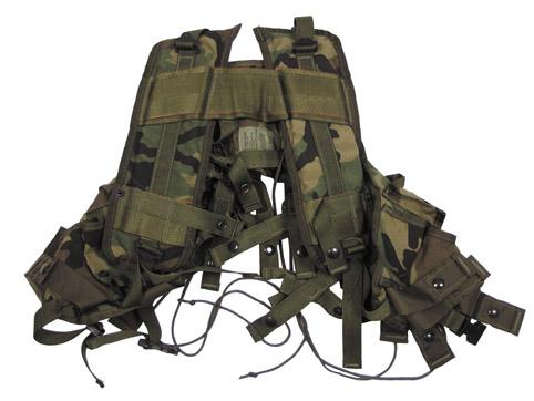 US Weste, Grenade Carrier, woodland