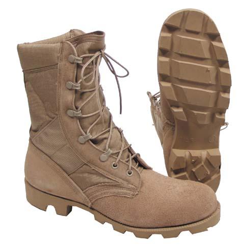 US Desert Boots, khaki, Codura, orig.
