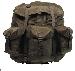 US Rucksack, Alice Bag oliv, large, mit Metallgestell