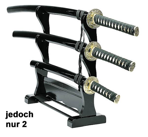 Ständer für 2 Samuraischwerter