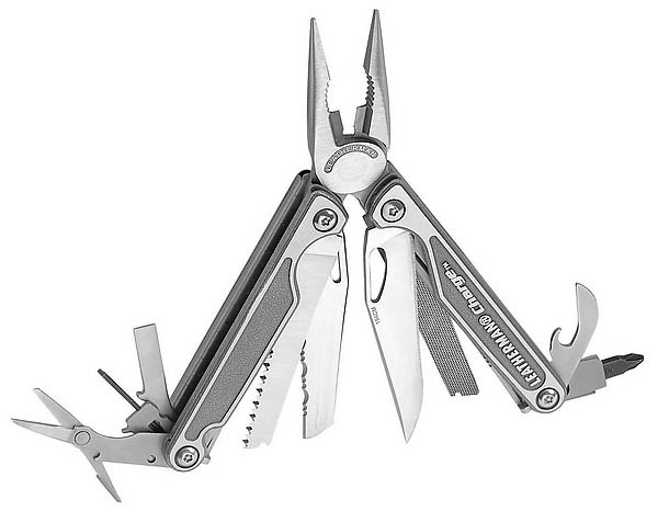 Leatherman Charge TI, Titan-Griffschalen, Lederholster