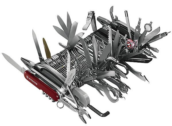 Wenger Giant Messer, mit Schatulle