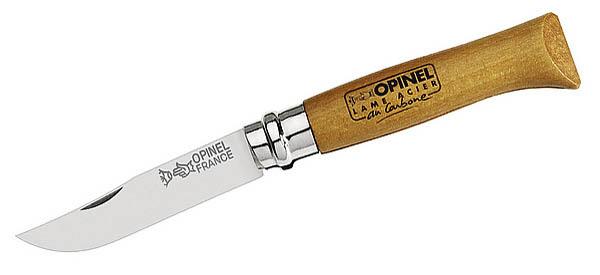 Opinel-Messer, Größe 7, nicht rostfrei