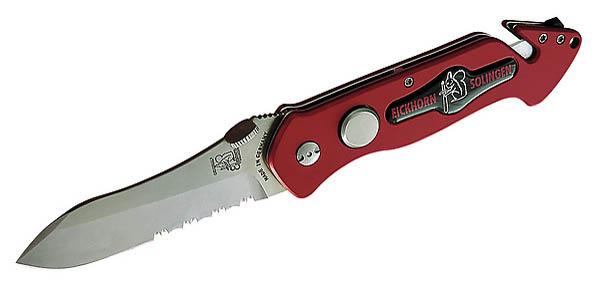 Eickhorn Rettungsmesser Rescue, Stahl 440 A, Aluminiumheft
