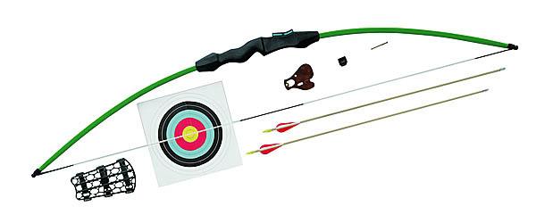 Barnett Sportflight Kit, Take-Down-Bogen, Zuggewicht 28 lbs, Armschutz, Fingerschutz, Visierstift, 2 Pfeile, Auflage