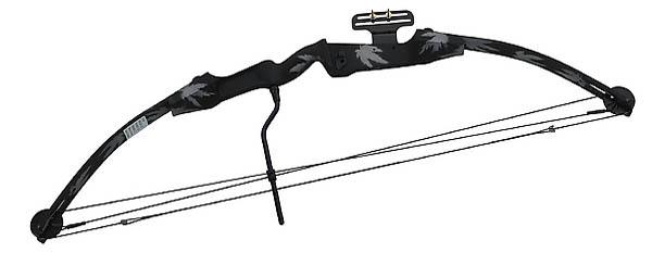 Compound-Bogen für Erwachsene, Zuggewicht 55 lbs.