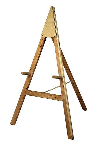 Scheibenständer Standard, Nadelholz, Lieferung ohne Scheibe, Maße: 80 x 100 x 125 cm