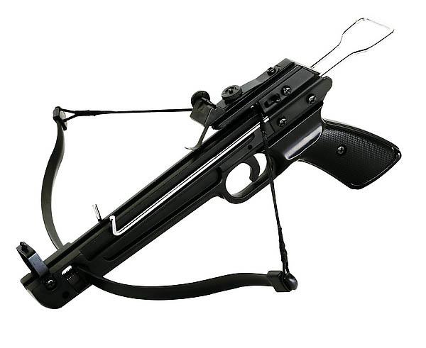 Armbrustpistole Shooter, inklusive 5 Kunststoffpfeile