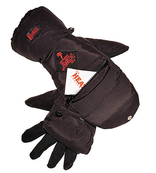 Handschuhe Heat 3, schwarz