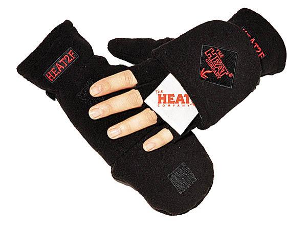Handschuhe Heat 2, schwarz