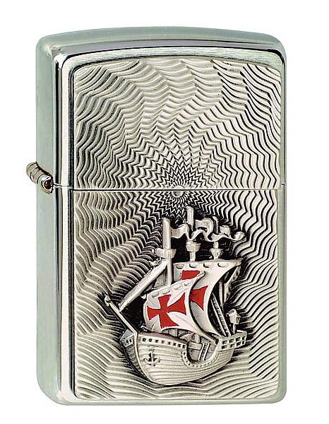 Zippo-Feuerzeug, Motiv Santa Maria