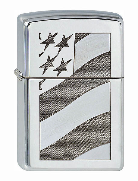 army shop zippo feuerzeug motiv old glory. Black Bedroom Furniture Sets. Home Design Ideas