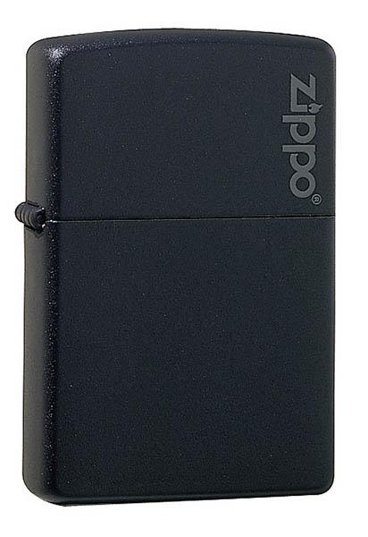 Zippo Feuerzeug, schwarz
