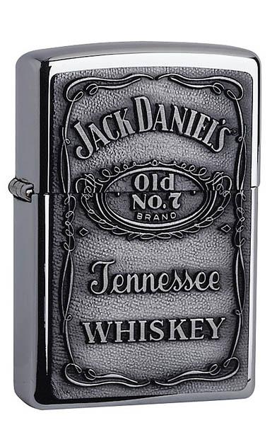 Zippo-Feuerzeug, Motiv Jack Daniels
