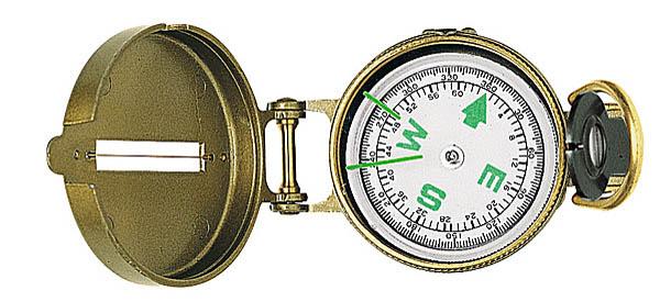 Herbertz Scout-Kompass, Metall-Gehäuse