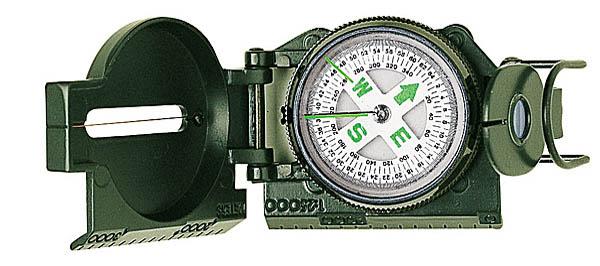 Herbertz Ranger-Kompass, Metall-Gehäuse