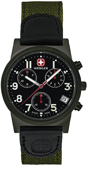 Wenger Swiss Watch, Modell Field Hunter, Chronograph